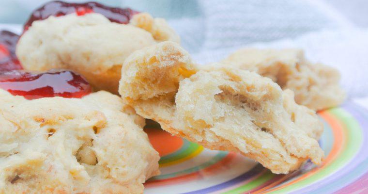Bananen scones (zonder suiker!)
