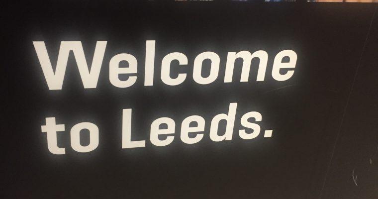 Update vanuit Leeds!