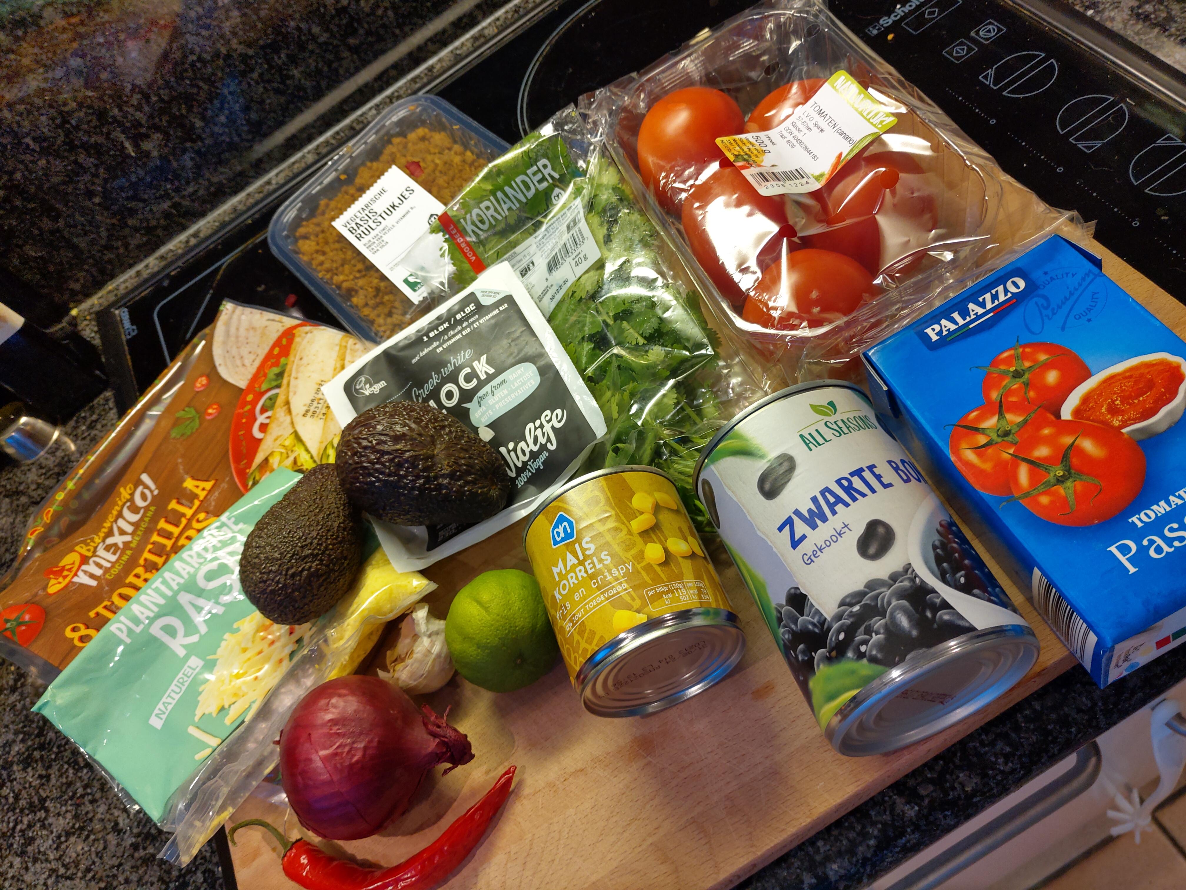 Vegan on a Budget: Tortillataart